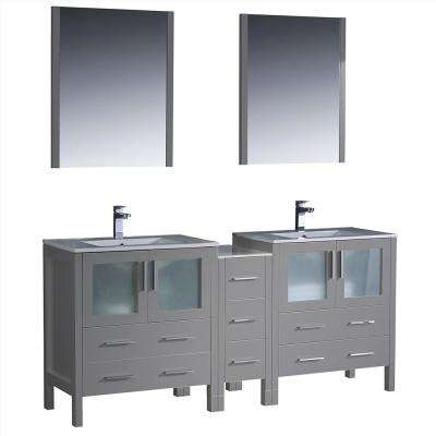 Integral Inch Vanities Gray Vanities With Tops Bathroom - Bathroom vanities gray color