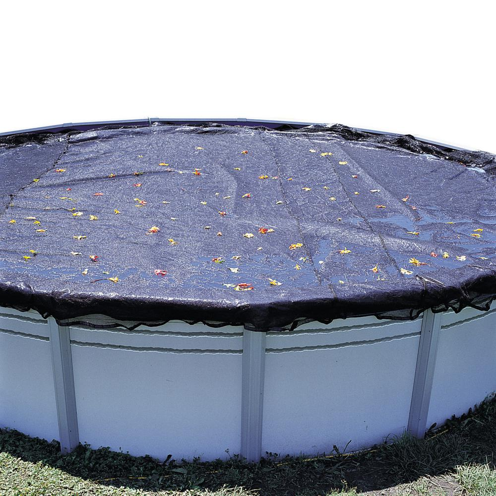 Swimline 18 ft. Round Above Ground Swimming Pool Leaf Cover