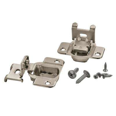 1/4 in. Overlay Concealed Cabinet Hinge (2-Pack)