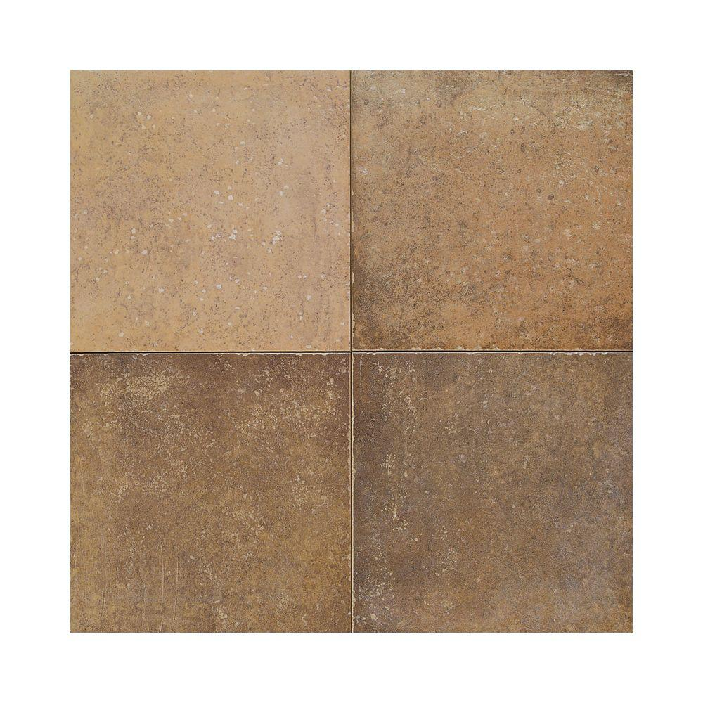 Daltile Terra Antica Oro 18 in. x 18 in. Porcelain Floor and Wall Tile (18 sq. ft. / case)