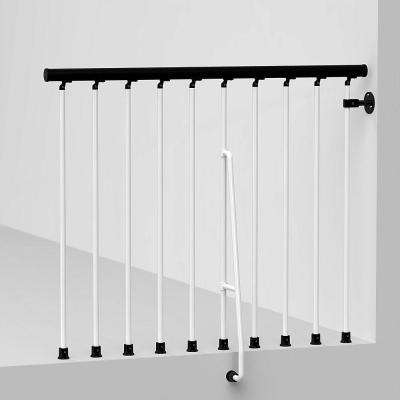 Civik 47 in. White Balcony Rail Kit