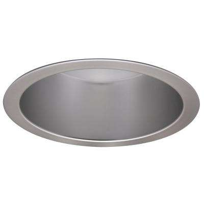 PD 6 in. Commercial Vertical Parabolic Semi-Specular Clear Reflector Recessed Ceiling Light Trim