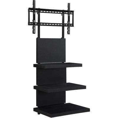 60 in. Popular Wide TV Stand in Black