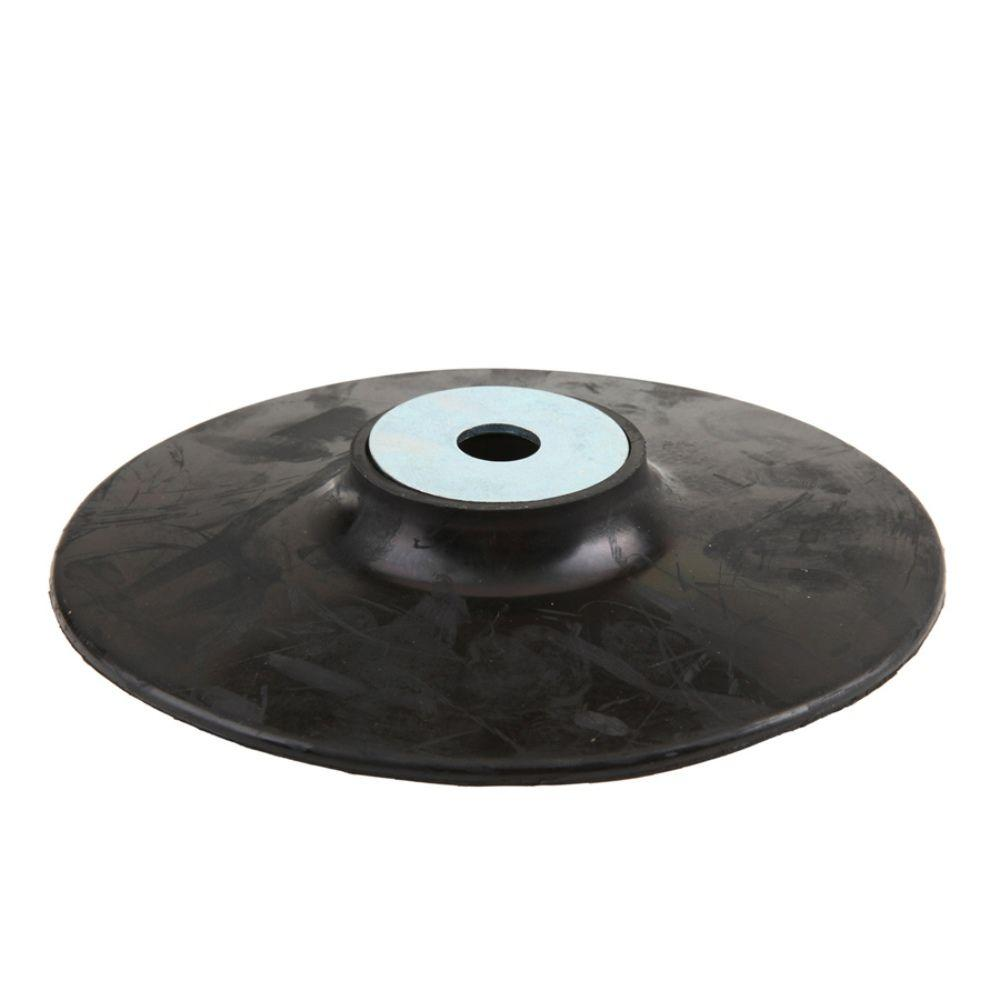 7 in. Rubber Backing Pad with 5/8 in. x 11 in.