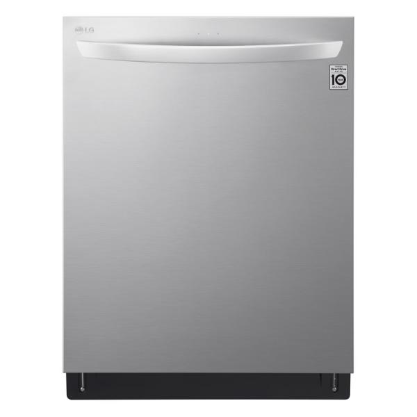 LG Electronics Top Control Tall Tub Smart Dishwasher with TrueSteam, 3rd Rack, Tub light, Wi-Fi Enabled in Stainless Steel, 42 dBA