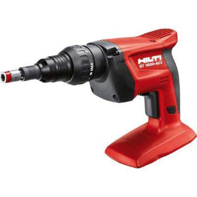 22-Volt Lithium-Ion 1/4 in. Hex Cordless Adjustable Torque Screwdriver ST 1800 Tool Body