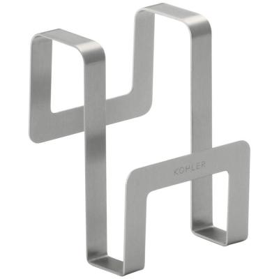Octave 4 in. x 3 in. Sponge Caddy in Stainless Steel