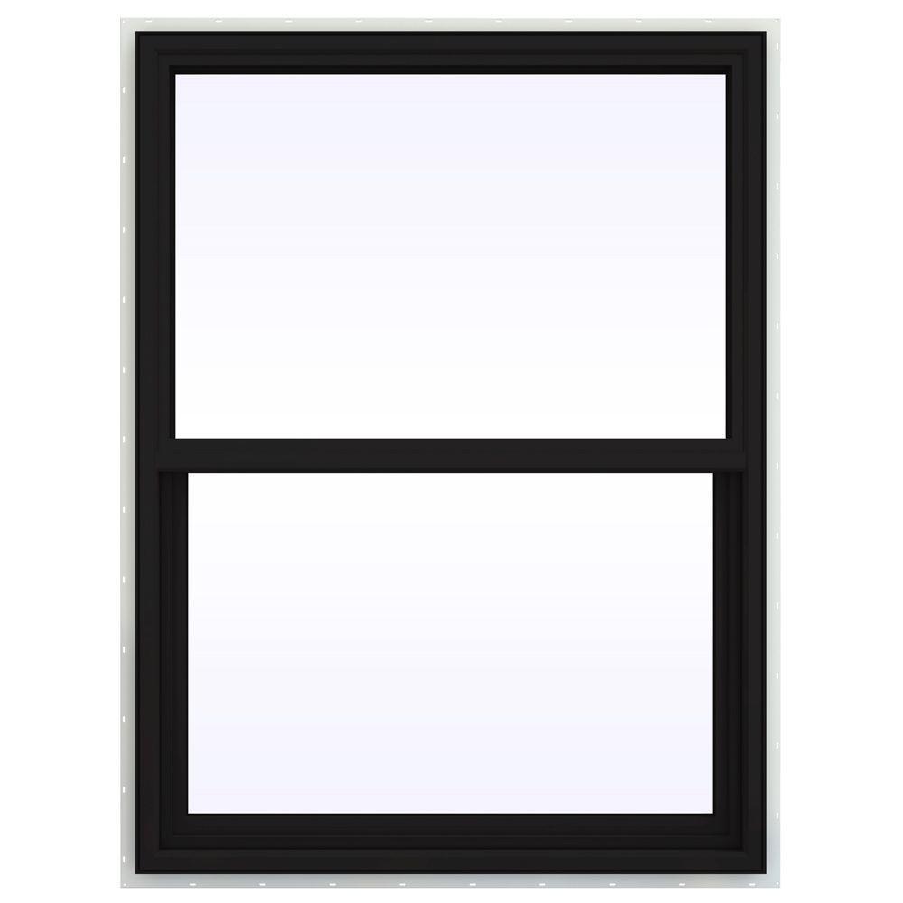 35.5 in. x 53.5 in. V-4500 Series Single Hung Vinyl Window