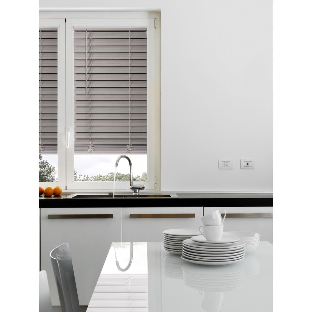 home decorators collection blinds home depot home decorators collection gray cordless 2 1 2 in premium 13430