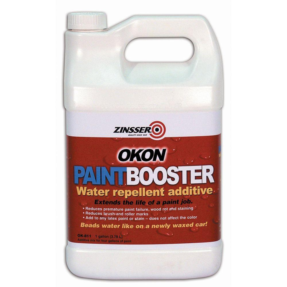 OKON 1-gal. Paint Booster Additive for Acrylic Latex Paints-DISCONTINUED