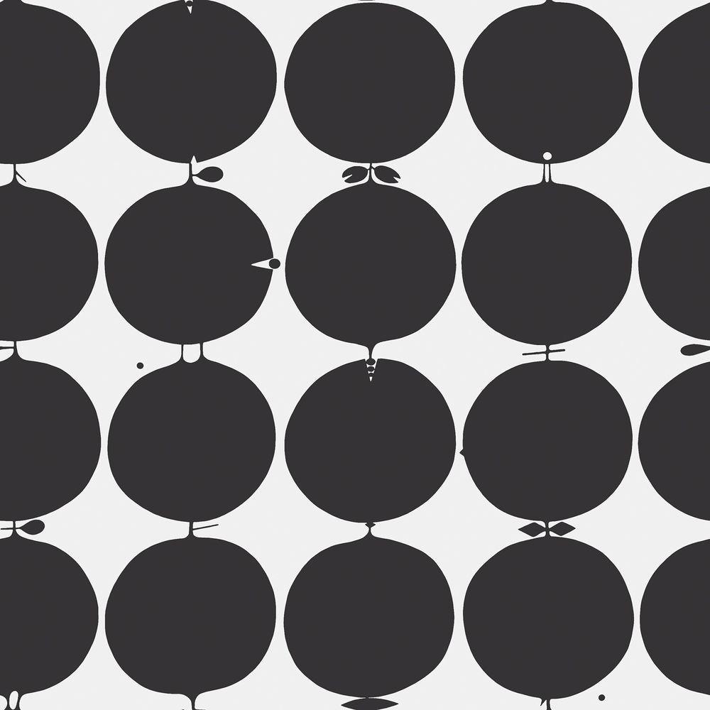 Brewster Tallyho Black Geometric Wallpaper Sample WV2751SAM