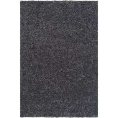 Arnold Gabriel Charcoal 3 ft. x 5 ft. Indoor Area Rug