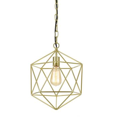 Bellini 1-Light Gold Chandelier