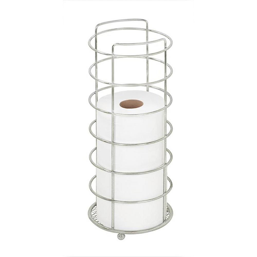 bath bliss toilet paper holder in satin nickel 4300 sat the home depot. Black Bedroom Furniture Sets. Home Design Ideas