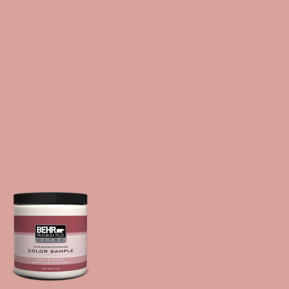 BEHR Premium Plus Ultra 8 oz. #PMD-70 Cottage Rose Interior/Exterior Paint Sample