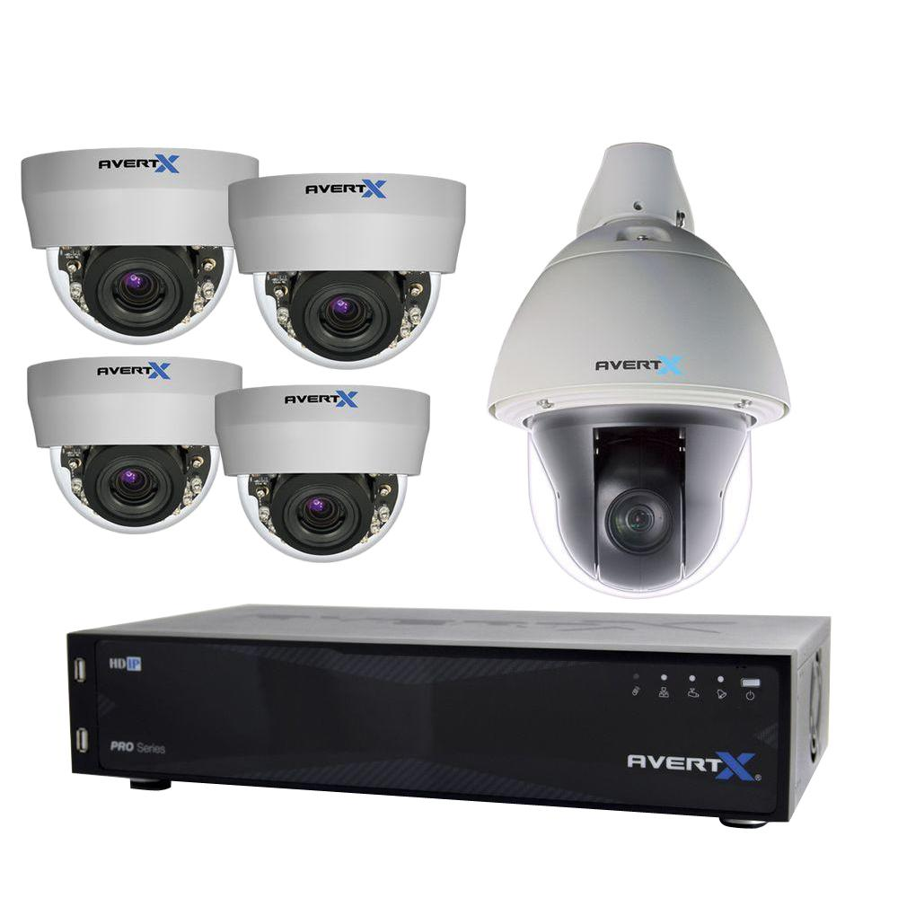 AvertX PRO 16-Channel HD+ IP Surveillance System with 8TB ...