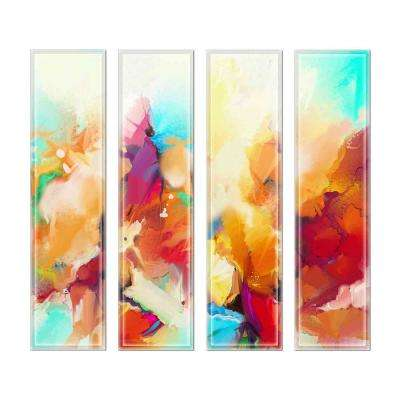 Upscale Designs Crystal Glass Mosaic Wall Tile - 3 in. x 6 in. Tile Sample - 1 Sample Tile Each Case