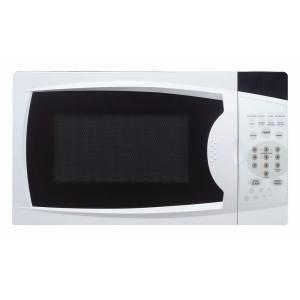 Magic Chef 0 7 Cu Ft Countertop Microwave In White Mcm770w1 The Home Depot