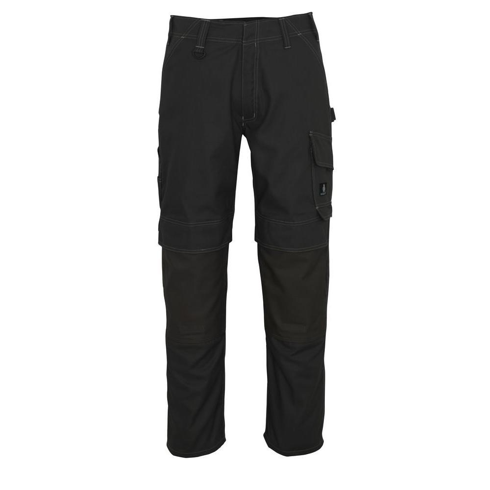 MASCOT Men's 32 in. x 32 in. Dark Grey 65% Polyester/35% Cotton Houston Work Pant