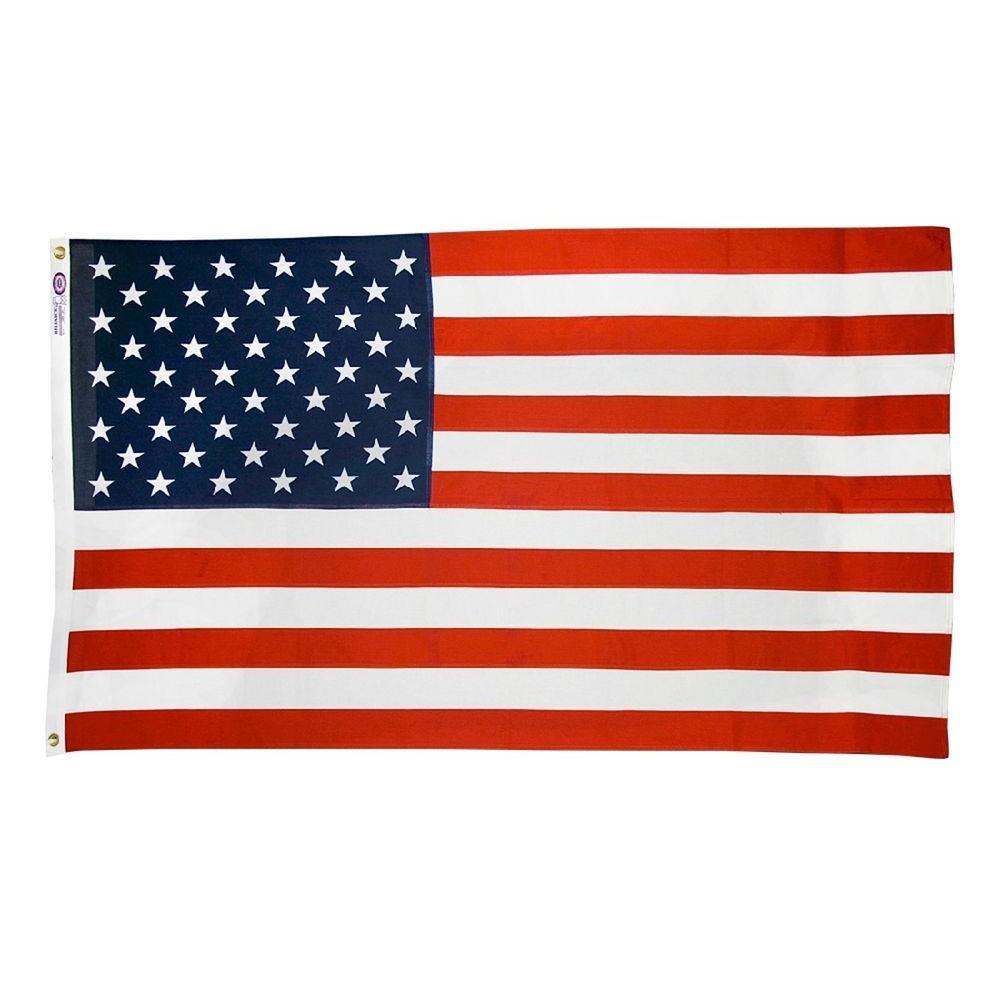 0d7061c770e4 Annin Flagmakers 3 ft. x 5 ft. Cotton U.S. Flag-1120 - The Home Depot
