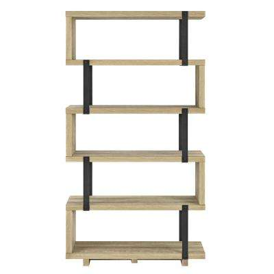 Easton Brown Oak Bookcase
