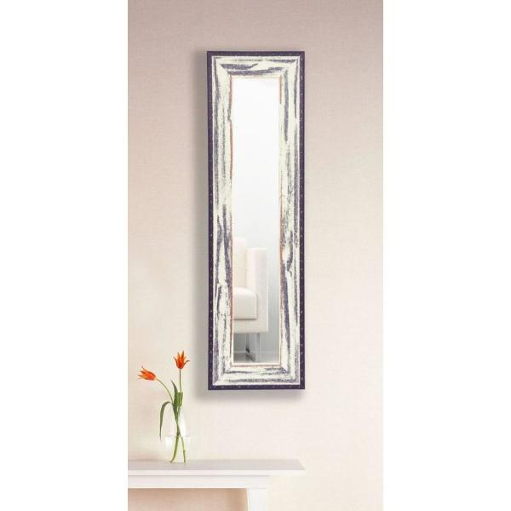 11.5 in. x 29.5 in. Rustic Seaside Vanity Mirror Single Panel