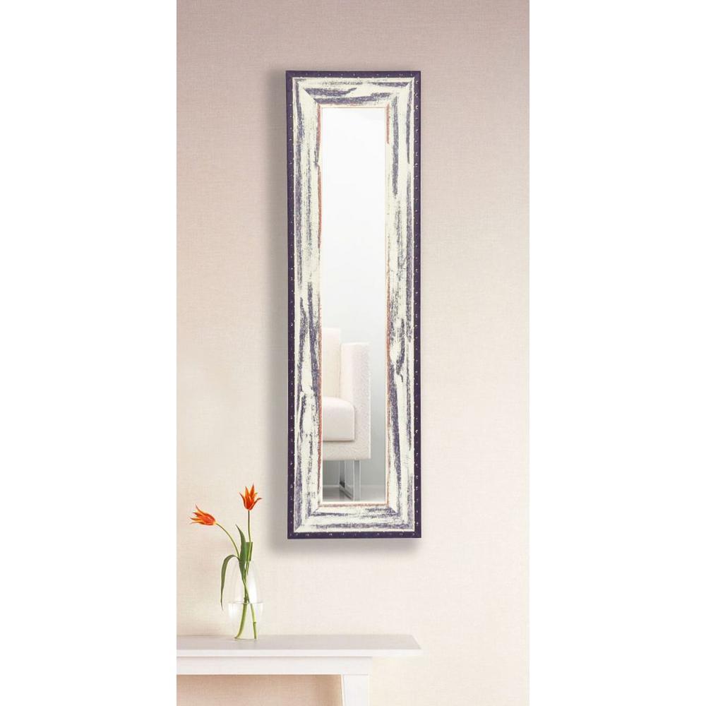 11.5 in. x 39.5 in. Rustic Seaside Vanity Mirror Single Panel