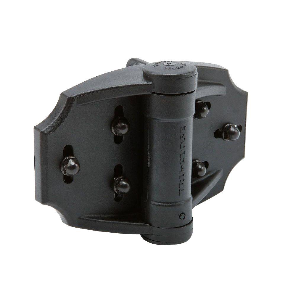Weatherables Du0026D TruClose Pair Of Black Heavy Duty Multi Adjust Hinge