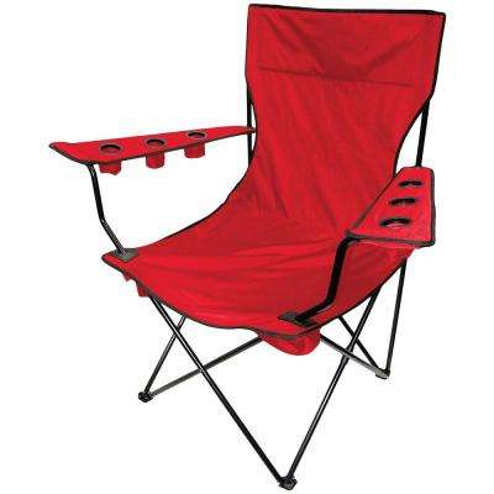 9 cu. ft. Original Folding Kingpin Chair in Red
