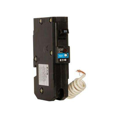 Type BR 20 Amp 1 in. Single-Pole Dual Function Arc Fault/Ground Fault Circuit Breaker