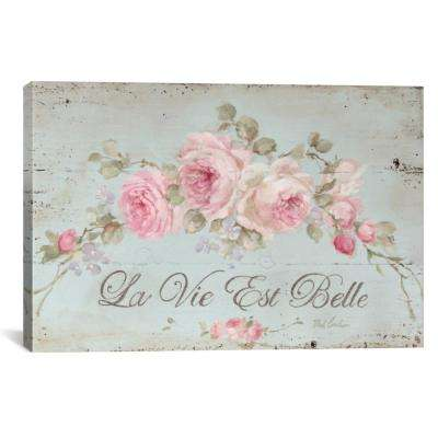 """Life Is Beautiful"" by Debi Coules Canvas Wall Art"