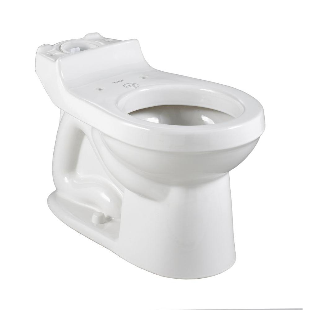 Champion 4 Round Front Toilet Bowl Only Less Seat in White