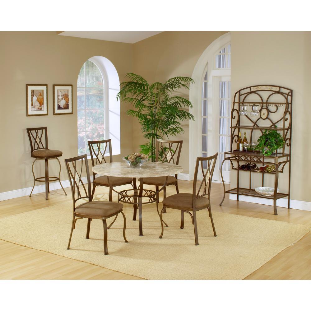 Hillsdale Furniture Brookside Brown Bakeru0027s Rack