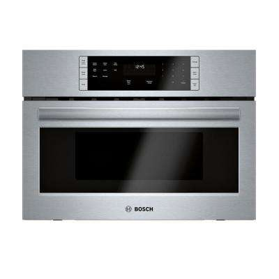 500 Series 27 in. 1.6 cu. ft. Built-In Microwave in Stainless Steel with Drop Down Door and Sensor Cooking