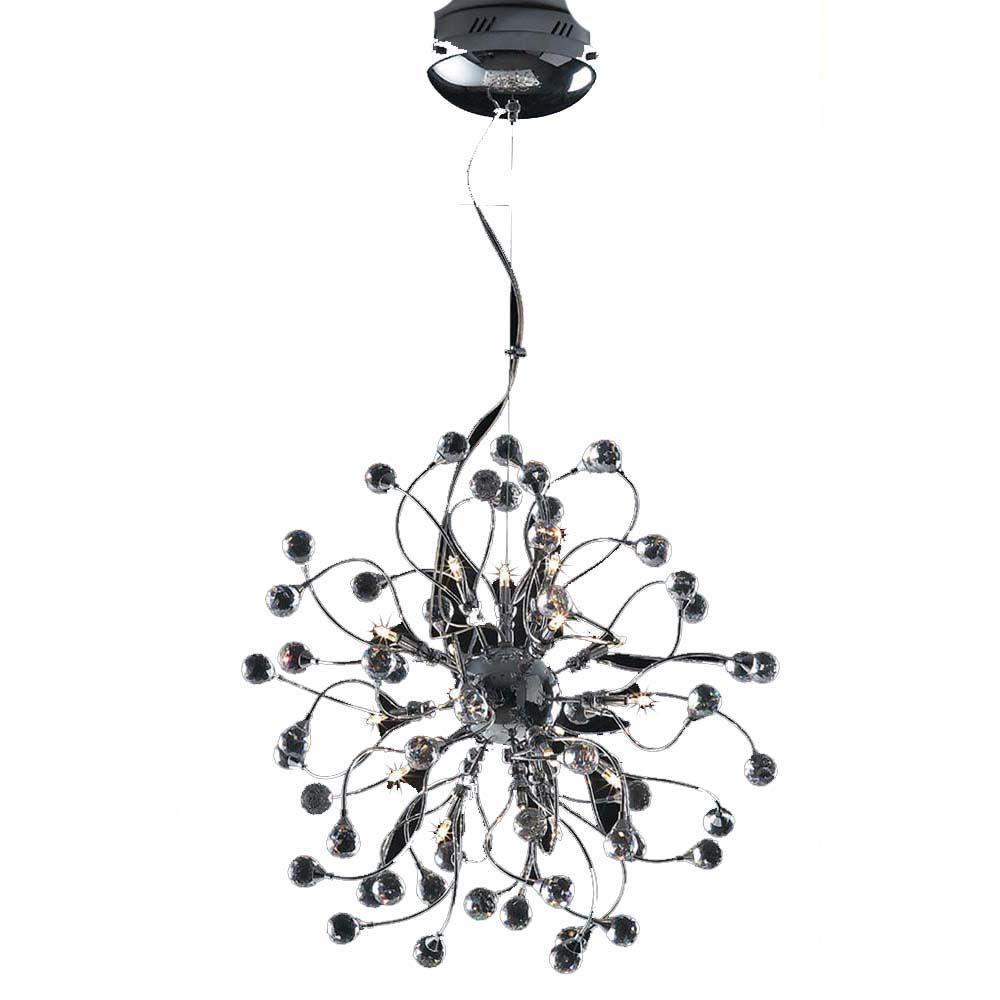 Filament Design Xavier 28-Light Clear Pendant