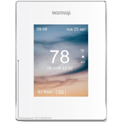 Cloud White Smart Wi-Fi Thermostat for Underfloor Heating System