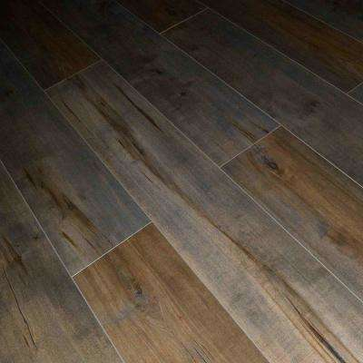 Latte Birch 12 mm Thick x 7.72 in. Wide x 48 in. Length Click-Locking Laminate Flooring Planks (17.943 sq. ft. / case)