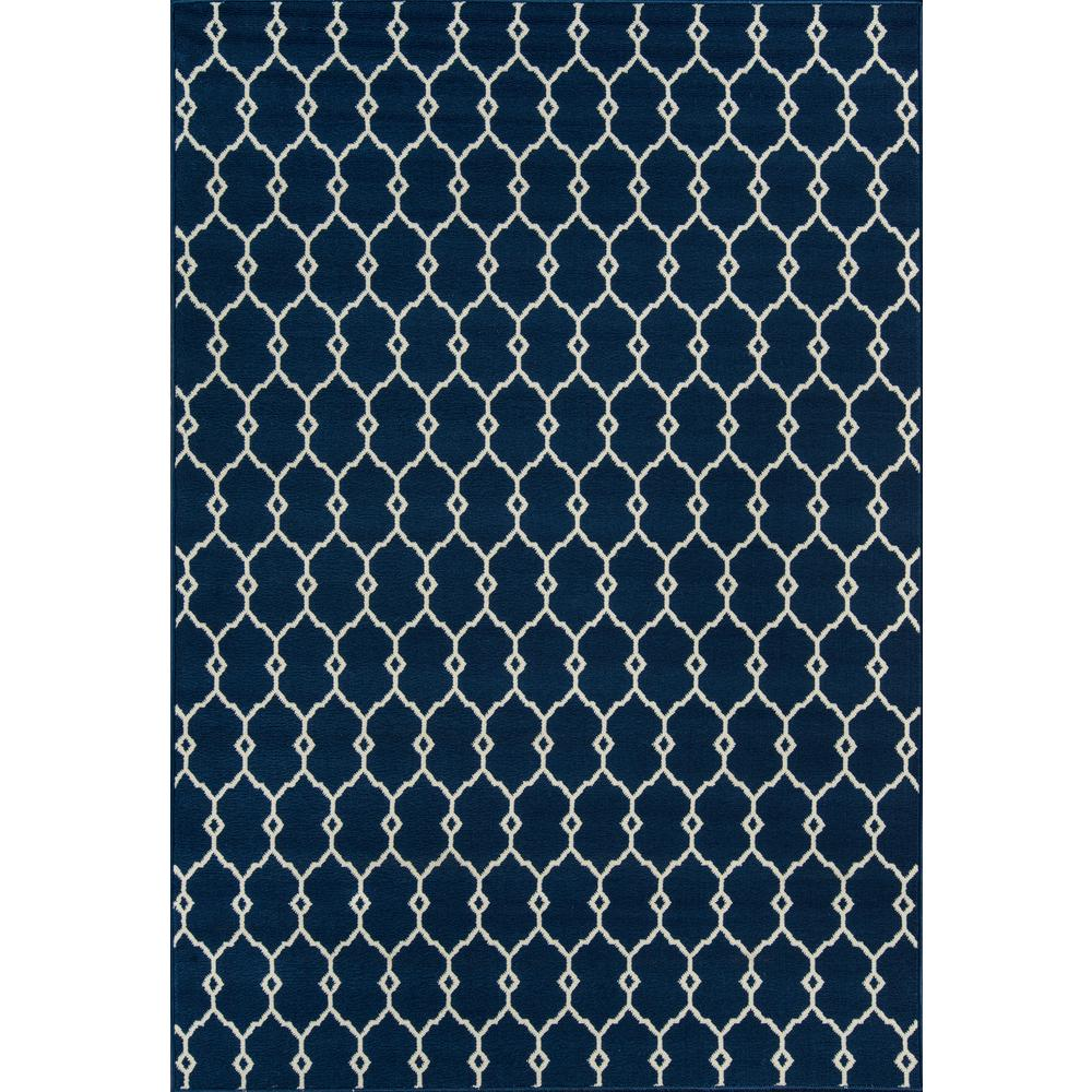 Baja Navy 5 ft. x 8 ft. Indoor/Outdoor Area Rug