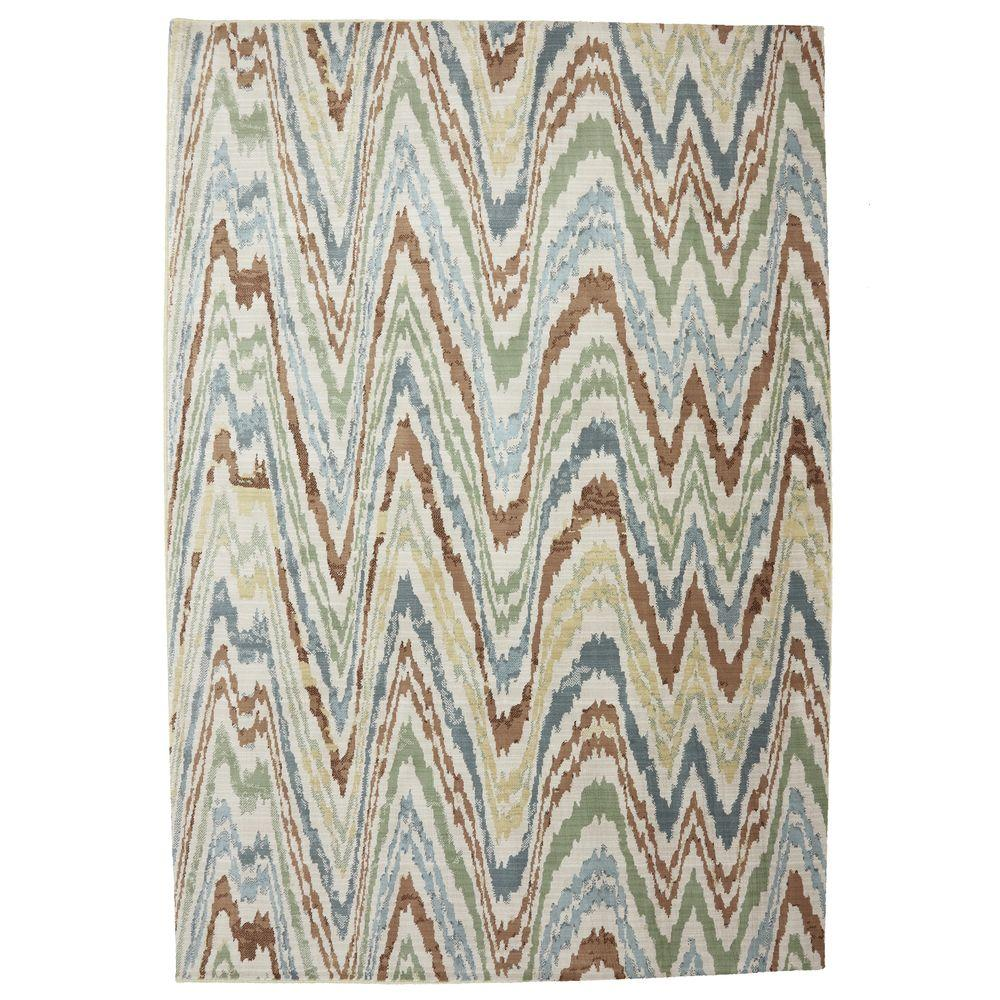 Mohawk Home Painted Desert Butter Pecan 3 ft. 6 in. x 5 ft. 6 in. Area Rug