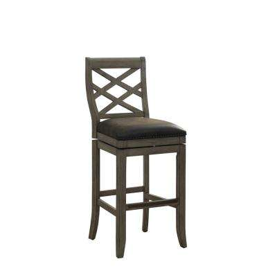 Arlington 30 in. Beige Bar Height Stool