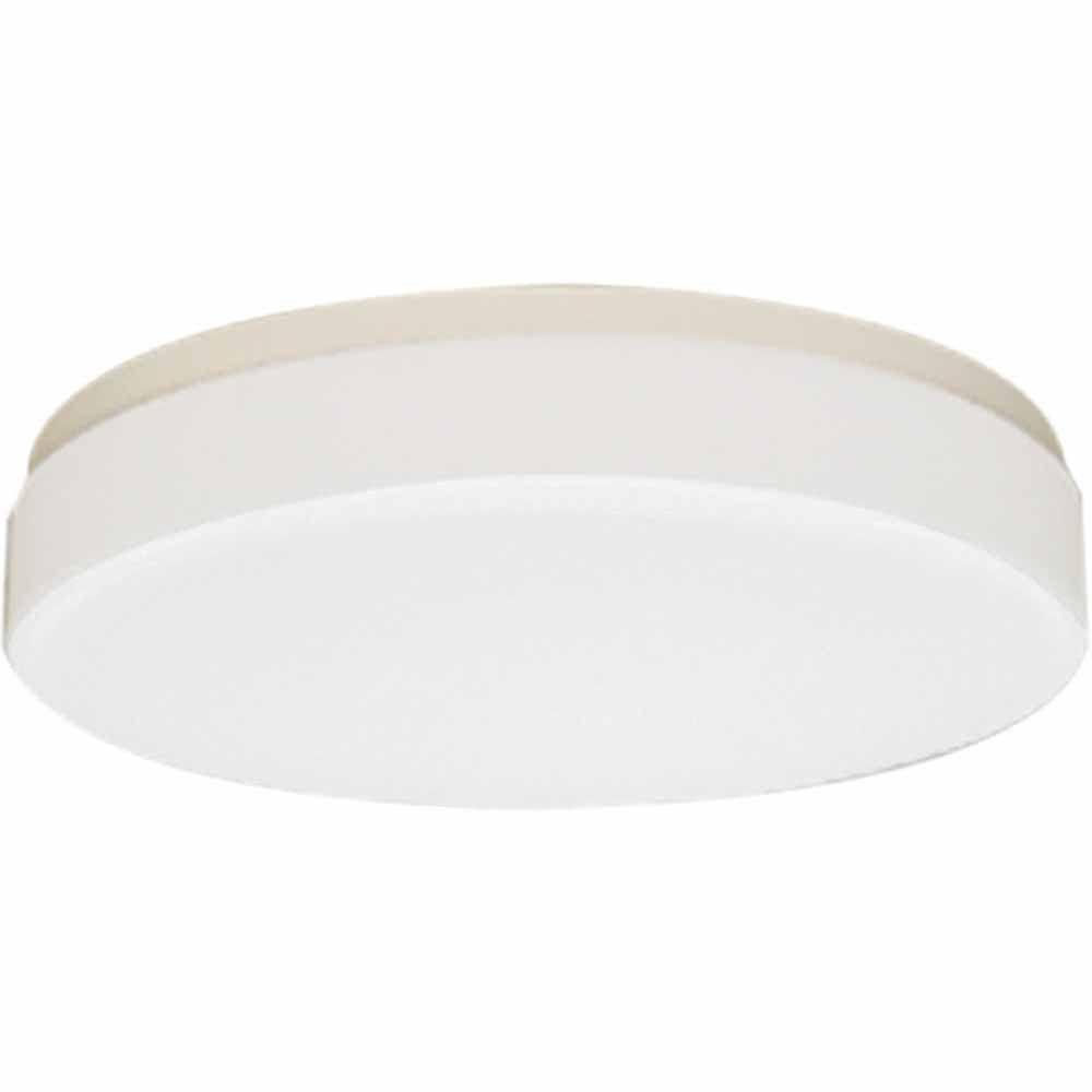 Filament Design Lenor 3-Light White Incandescent Ceiling Flush Mount