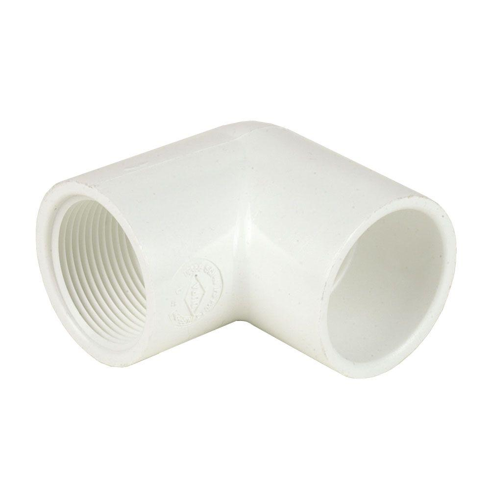 DURA 4 in. Schedule 40 PVC 90-Degree Elbow SxFPT