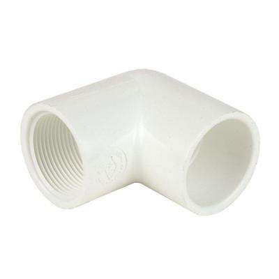 4 in. Schedule 40 PVC 90-Degree Elbow SxFPT