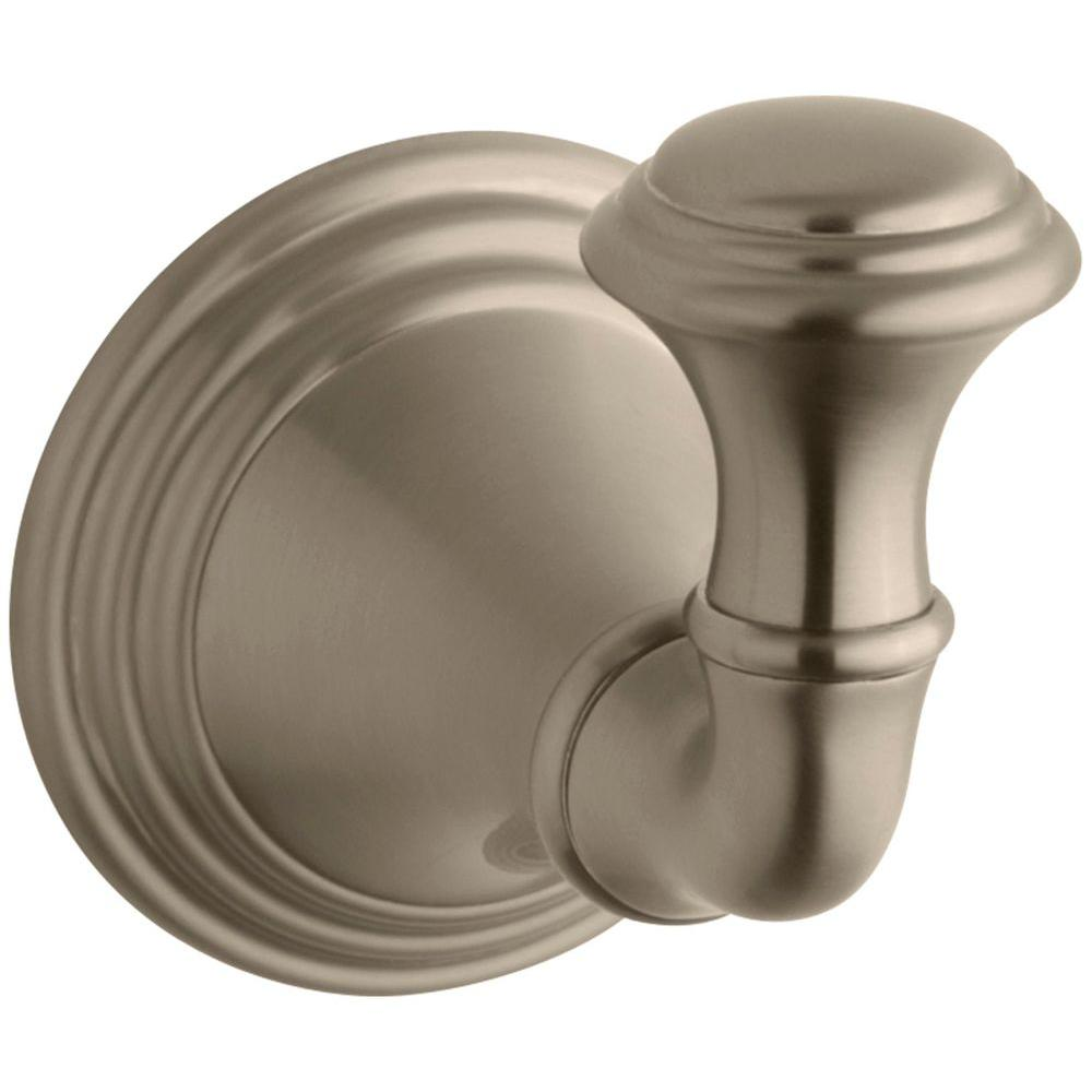KOHLER Devonshire Single Robe Hook in Vibrant Brushed Bronze