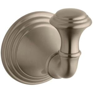 Kohler Devonshire Single Robe Hook in Vibrant Brushed Bronze by KOHLER