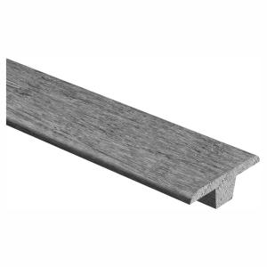 Unfinished White Oak 3/8 in. Thick x 1-3/4 in. Wide x 94 in. Length Hardwood T-Molding
