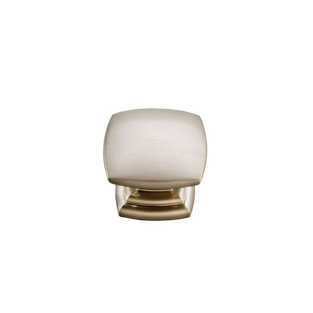 Hickory Hardware Euro-Contemporary 1-1/2 in. Stainless Steel Cabinet Knob