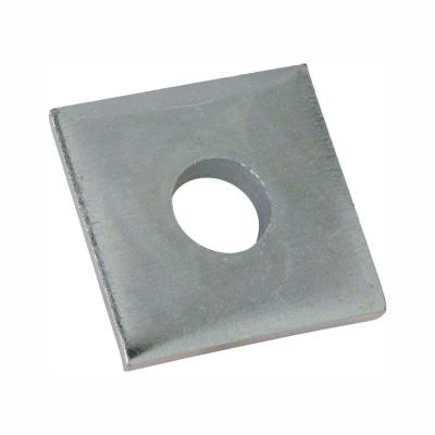 1/2 in. Square Strut Washer Silver Galvanized (5-Pack)