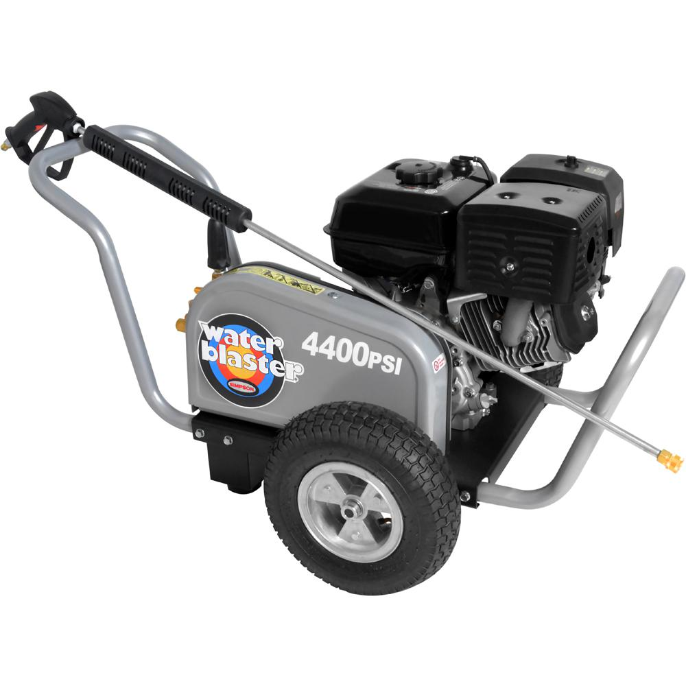 Simpson WaterBlaster 4400 PSI 4.0 GPM Triplex Pump Gas Pressure Washer
