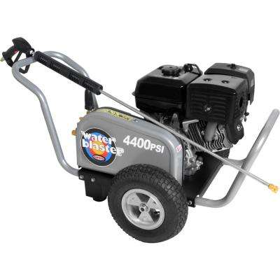 WaterBlaster 4400 PSI 4.0 GPM Triplex Pump Gas Pressure Washer